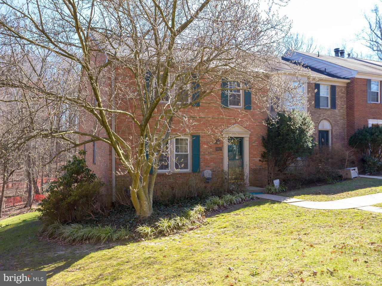 タウンハウス のために 売買 アット 8927 Park Forest Drive 8927 Park Forest Drive Springfield, バージニア 22152 アメリカ合衆国