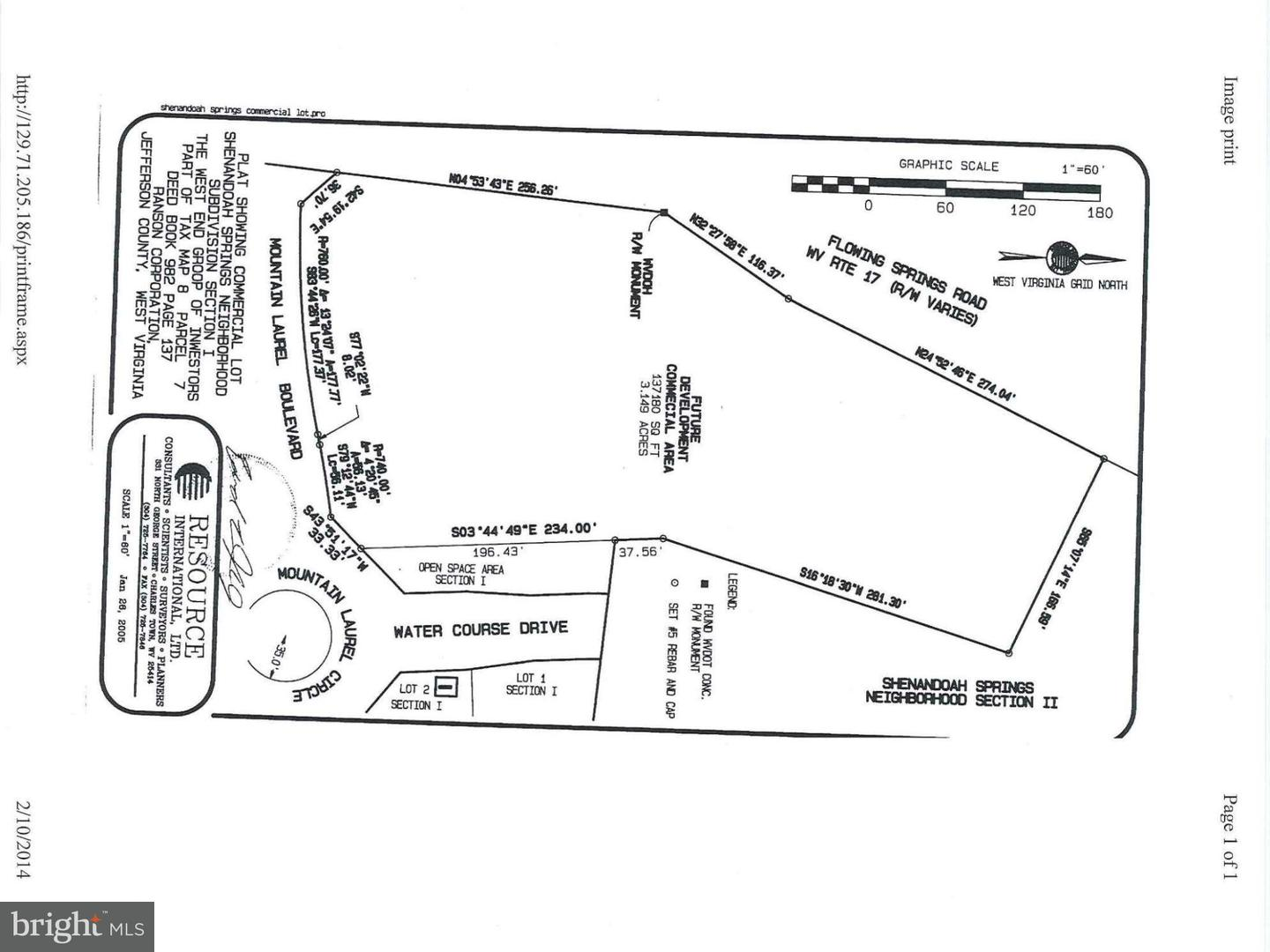 Land for Sale at Flowing Springs Rd Ranson, West Virginia 25438 United States