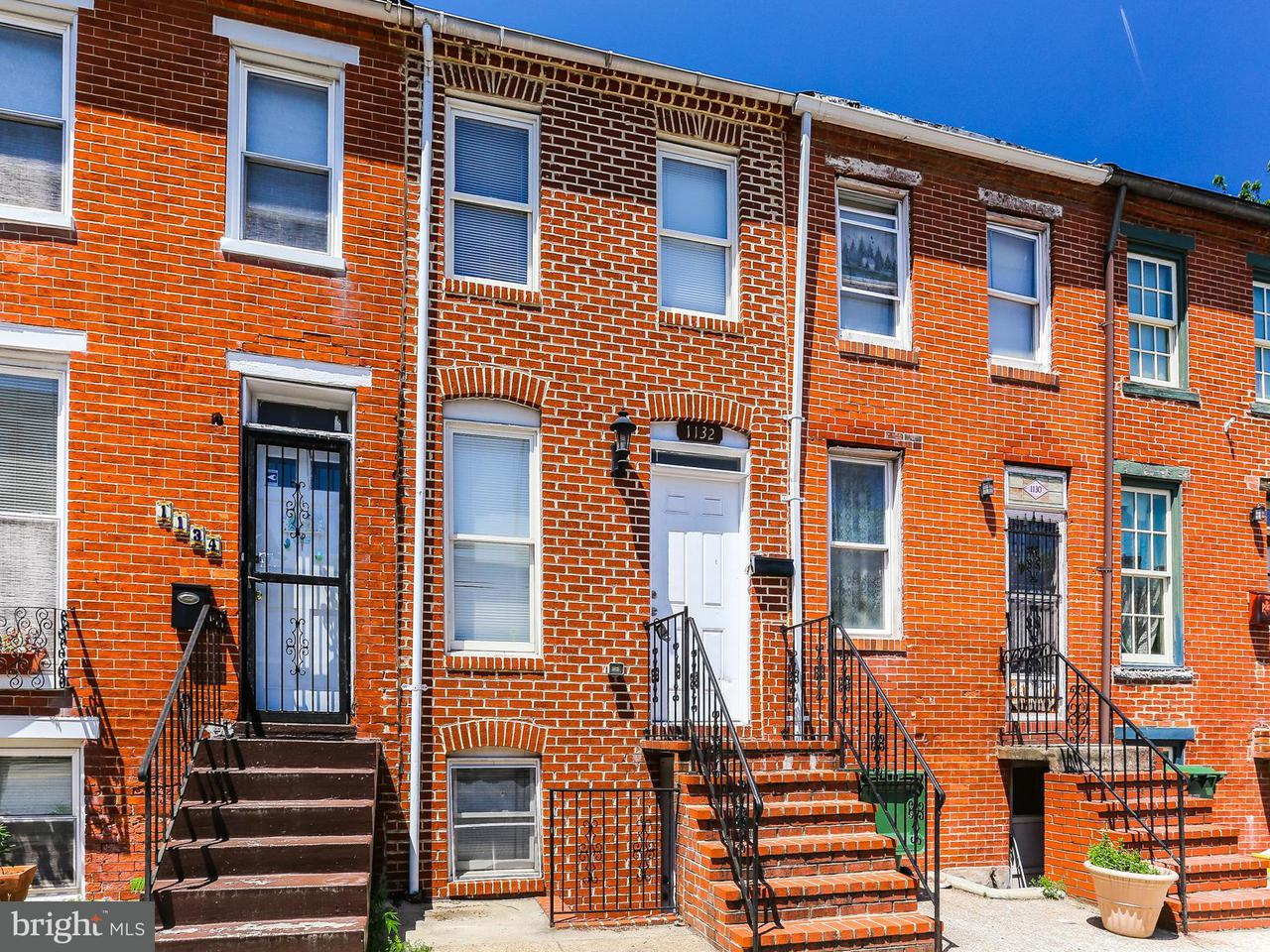 Single Family for Sale at 1132 Lombard St W Baltimore, Maryland 21223 United States