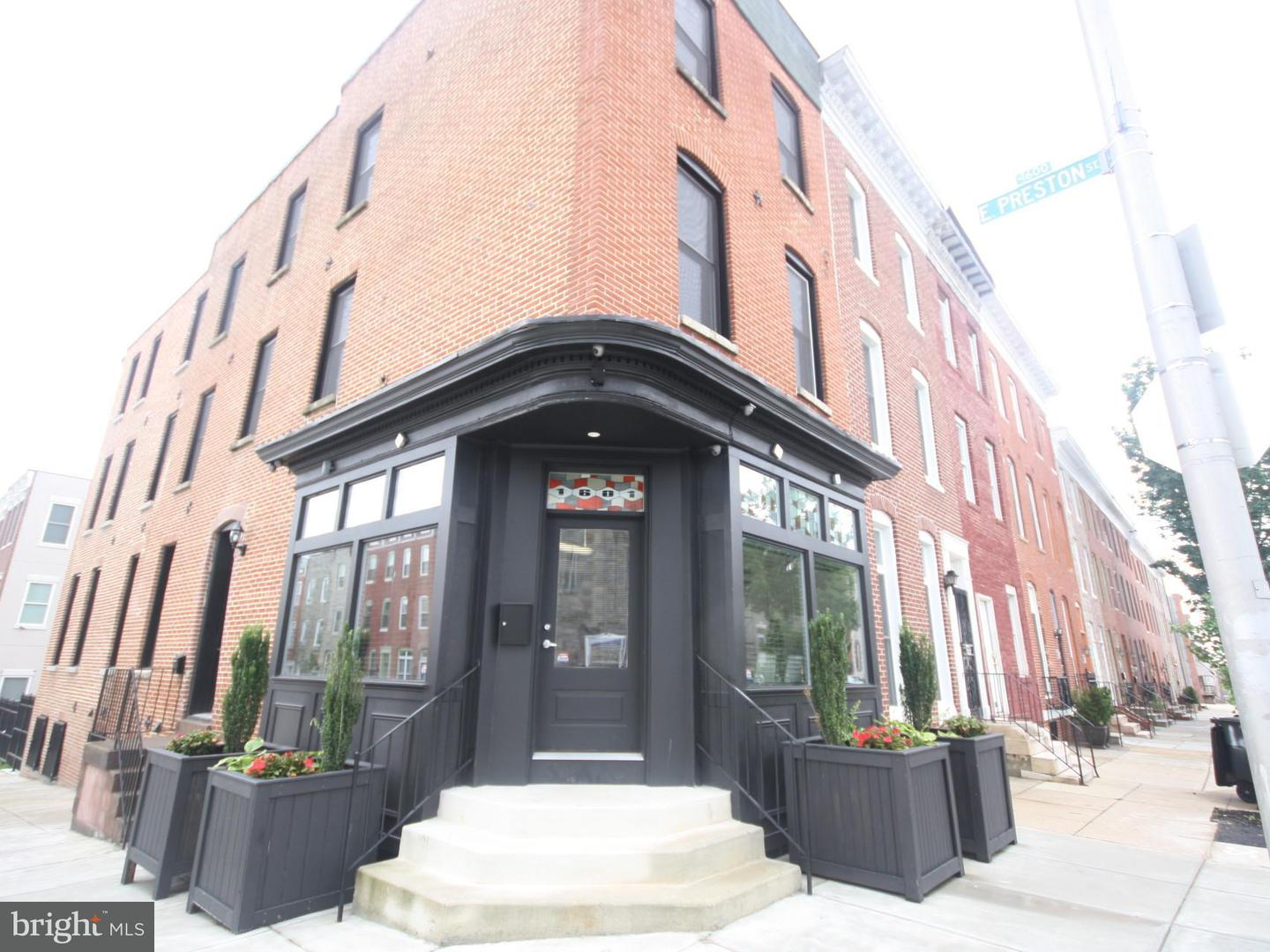 Commercial for Sale at 1601 Preston St E Baltimore, Maryland 21213 United States
