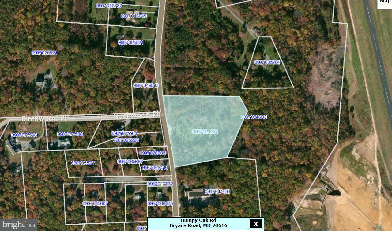 Land for Sale at 11111111 Bumpy Oak Rd Bryans Road, Maryland 20616 United States