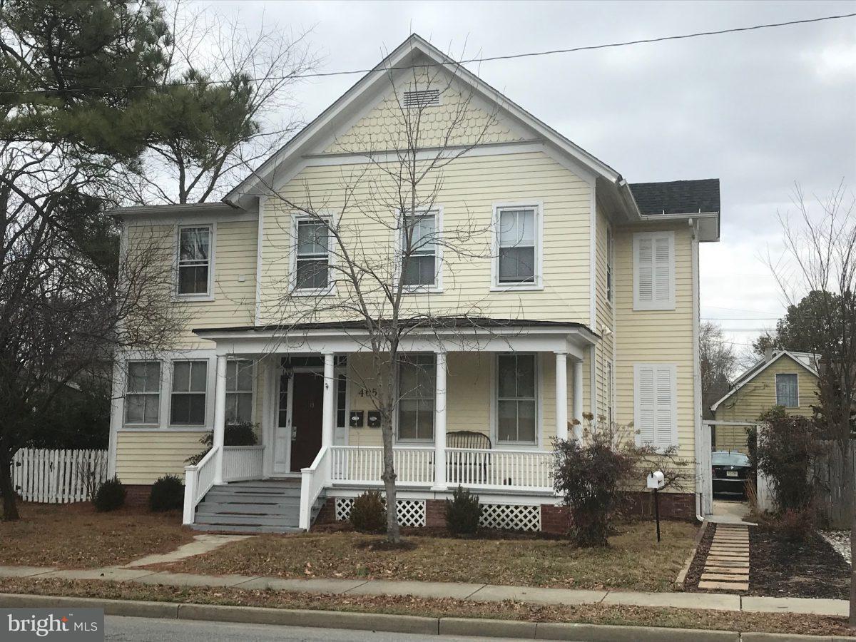 Casa Multifamiliar por un Venta en 405 Goldsborough Street 405 Goldsborough Street Easton, Maryland 21601 Estados Unidos