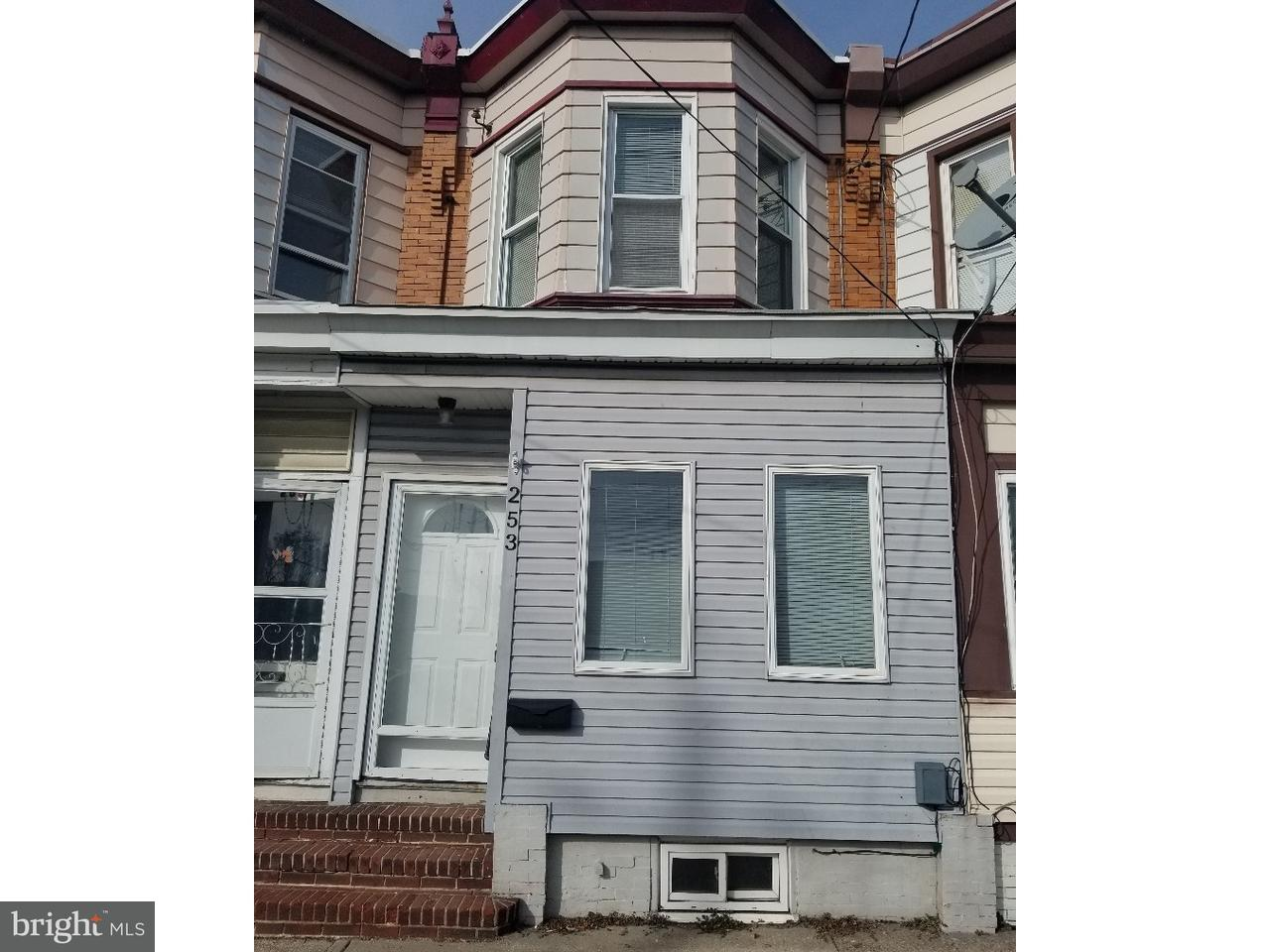 Townhouse for Rent at 253 3RD Street Gloucester City, New Jersey 08030 United States