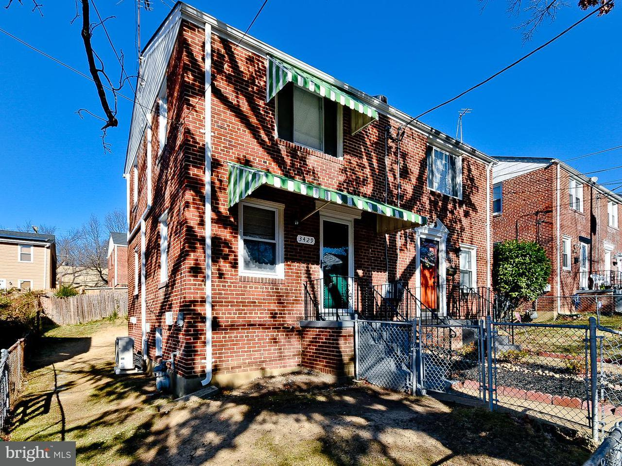 Single Family for Sale at 3429 24th St SE Washington, District Of Columbia 20020 United States