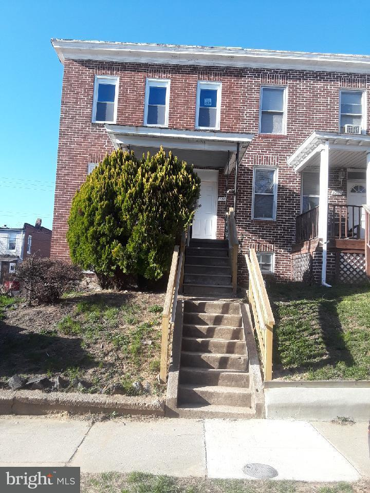Single Family for Sale at 3200 Elmora Ave Baltimore, Maryland 21213 United States