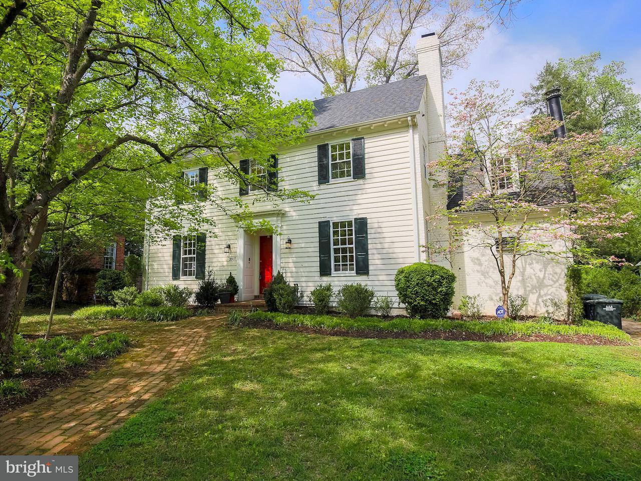 獨棟家庭住宅 為 出售 在 2007 Plymouth St Nw 2007 Plymouth St Nw Washington, 哥倫比亞特區 20012 美國