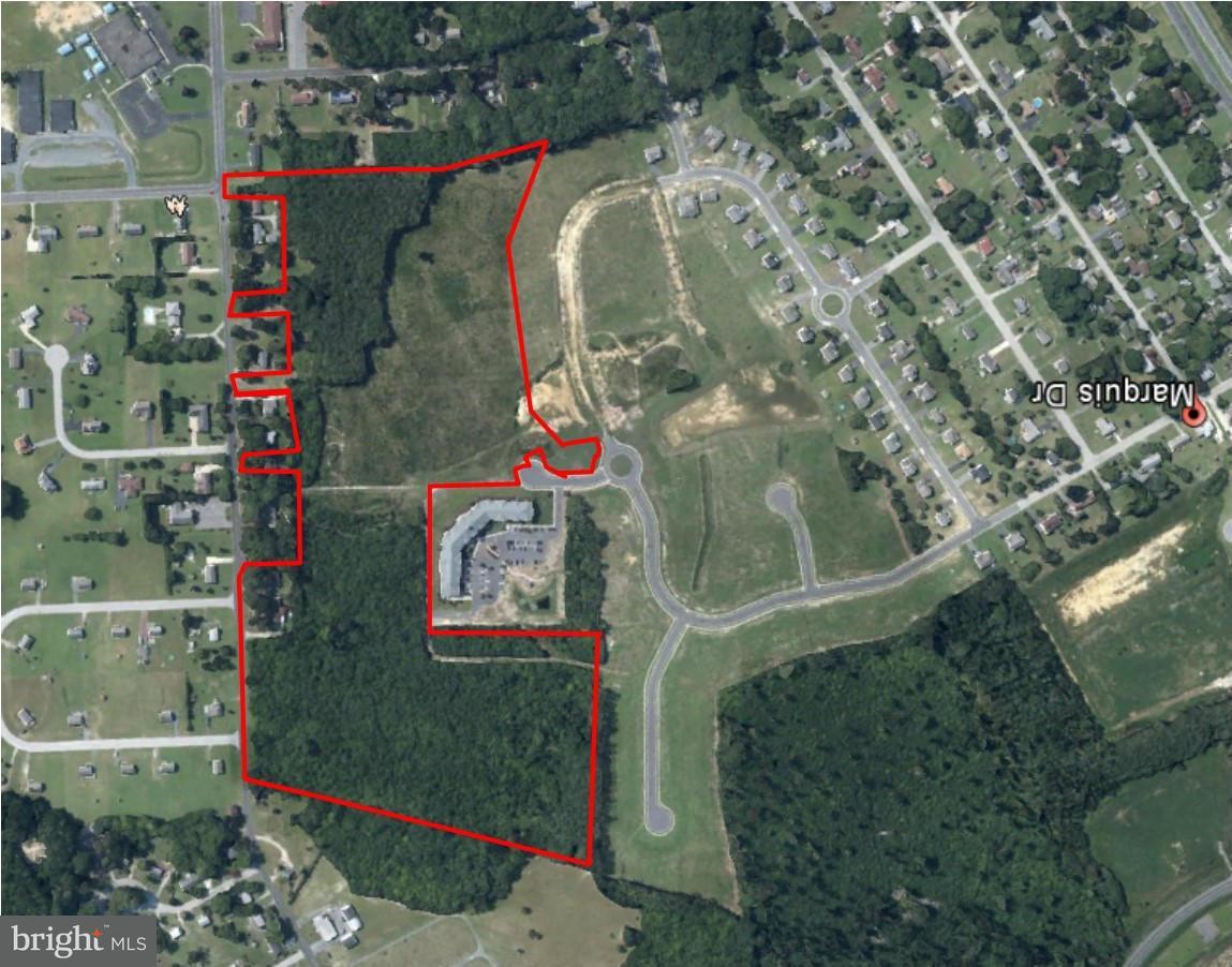 Terrain pour l Vente à West Road West Road Salisbury, Maryland 21801 États-Unis