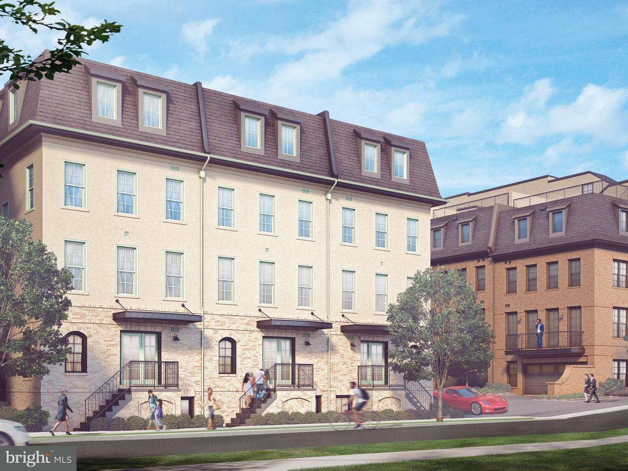 多棟聯建住宅 為 出售 在 1122 N Stuart Street #1 1122 N Stuart Street #1 Arlington, 弗吉尼亞州 22201 美國