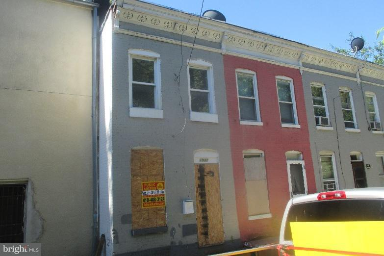 Single Family for Sale at 1937 Booth St Baltimore, Maryland 21223 United States