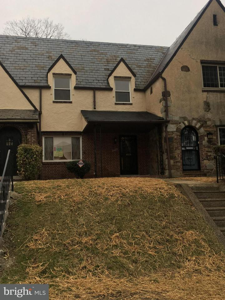 Single Family for Sale at 3427 Wabash Ave Baltimore, Maryland 21215 United States