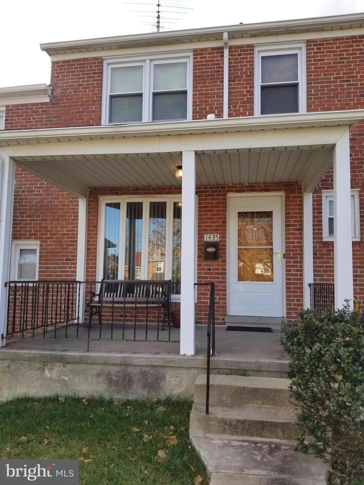 Single Family for Sale at 1435 Walker Ave Baltimore, Maryland 21239 United States