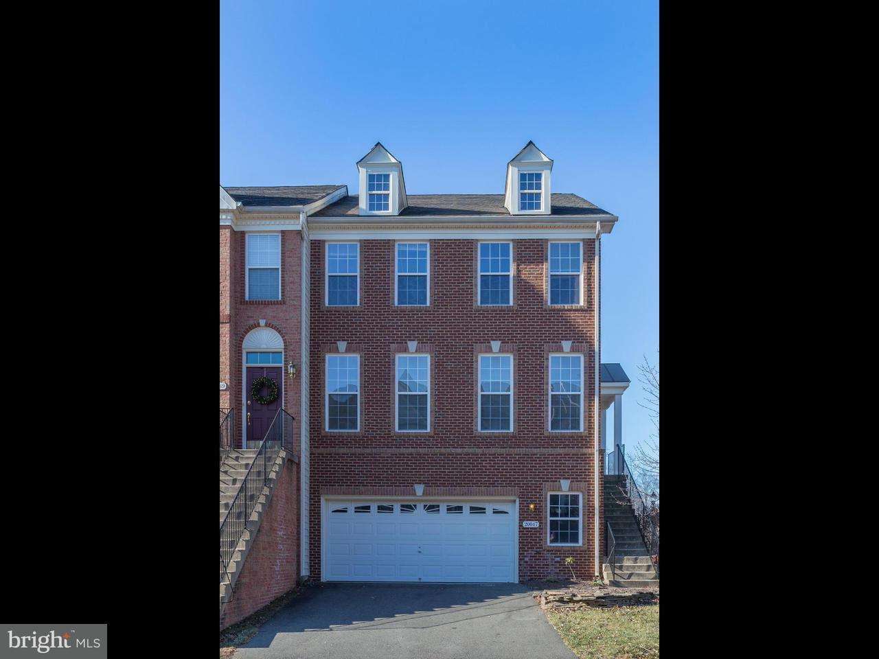 Townhouse for Sale at 20047 Northville Hills Ter 20047 Northville Hills Ter Ashburn, Virginia 20147 United States