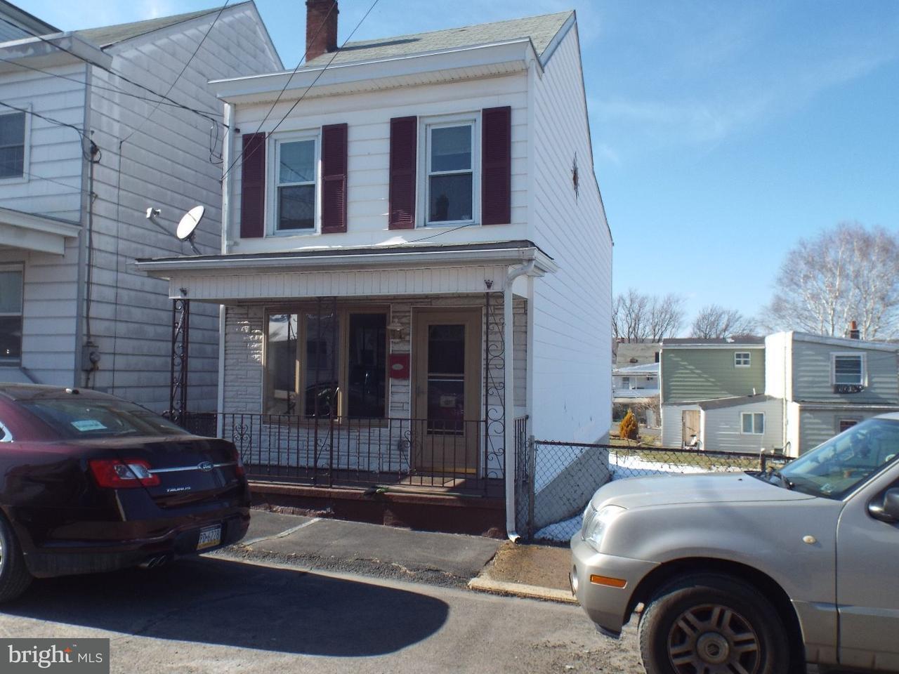 Частный односемейный дом для того Продажа на 412 POTTSVILLE Street Minersville, Пенсильвания 17954 Соединенные Штаты