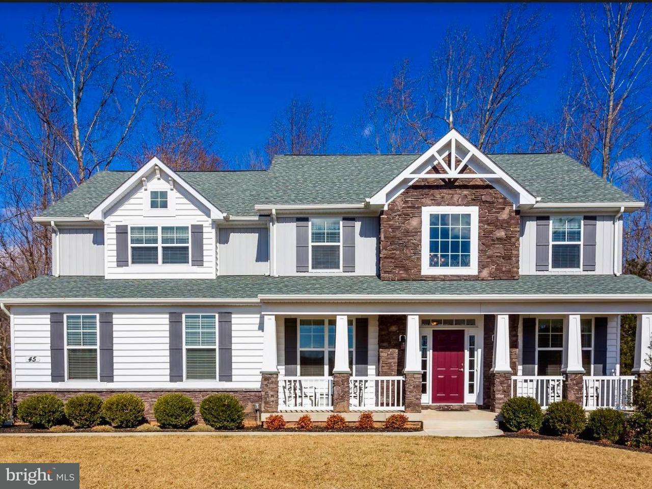 Casa Unifamiliar por un Venta en 45 Donovan Lane 45 Donovan Lane Stafford, Virginia 22556 Estados Unidos