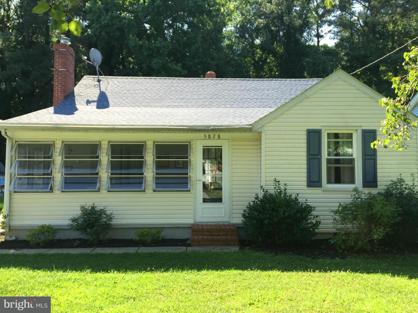 Photo of home for sale at 5878 Henry Avenue, Rock Hall MD