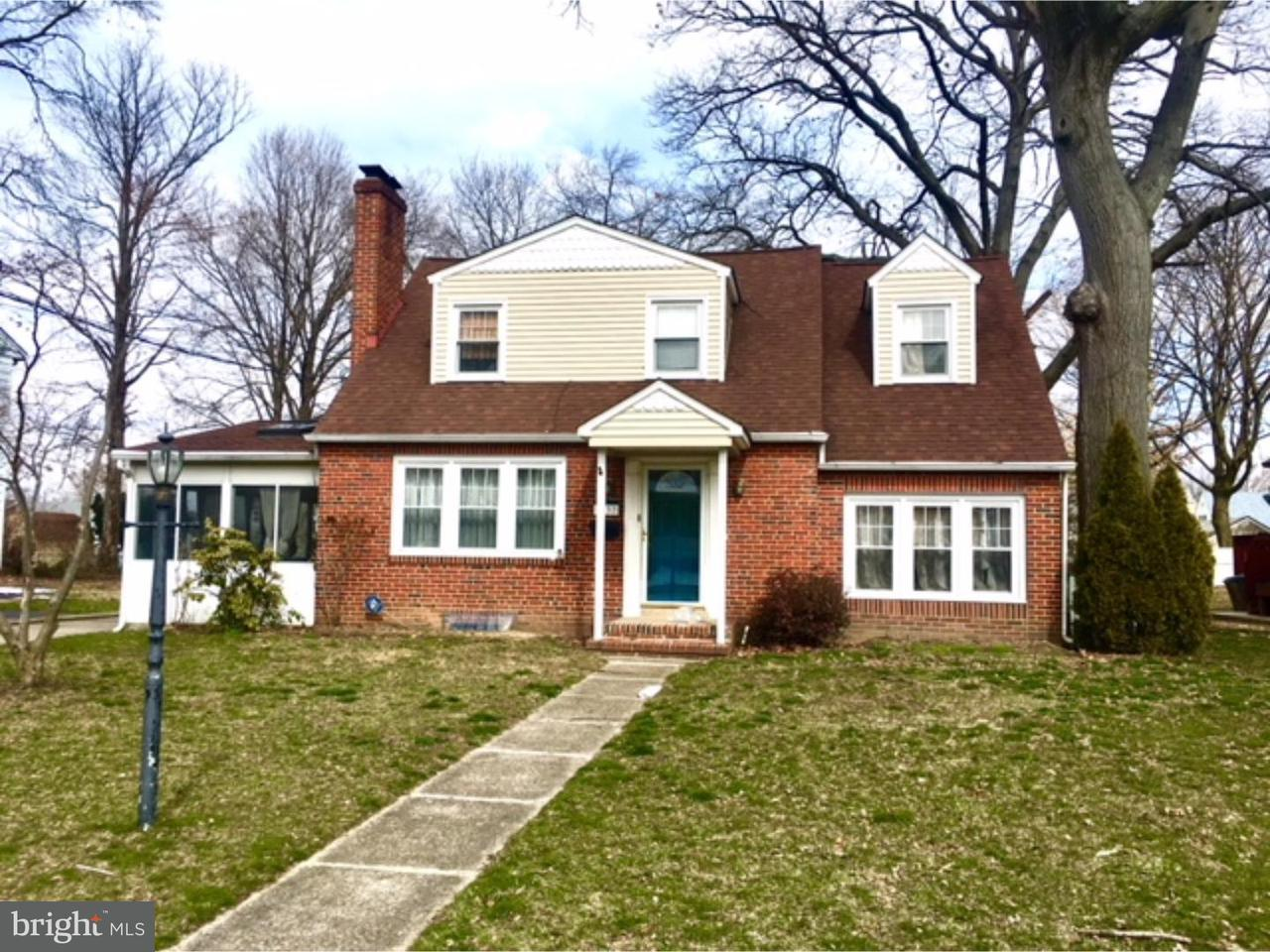 Single Family Home for Rent at 6137 IRVING Avenue Merchantville, New Jersey 08109 United States