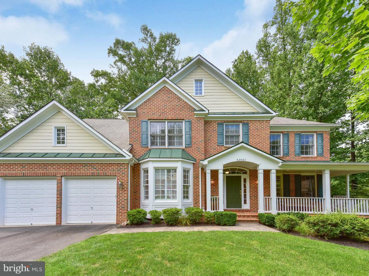 獨棟家庭住宅 為 出售 在 8206c Hillcrest Road 8206c Hillcrest Road Annandale, 弗吉尼亞州 22003 美國