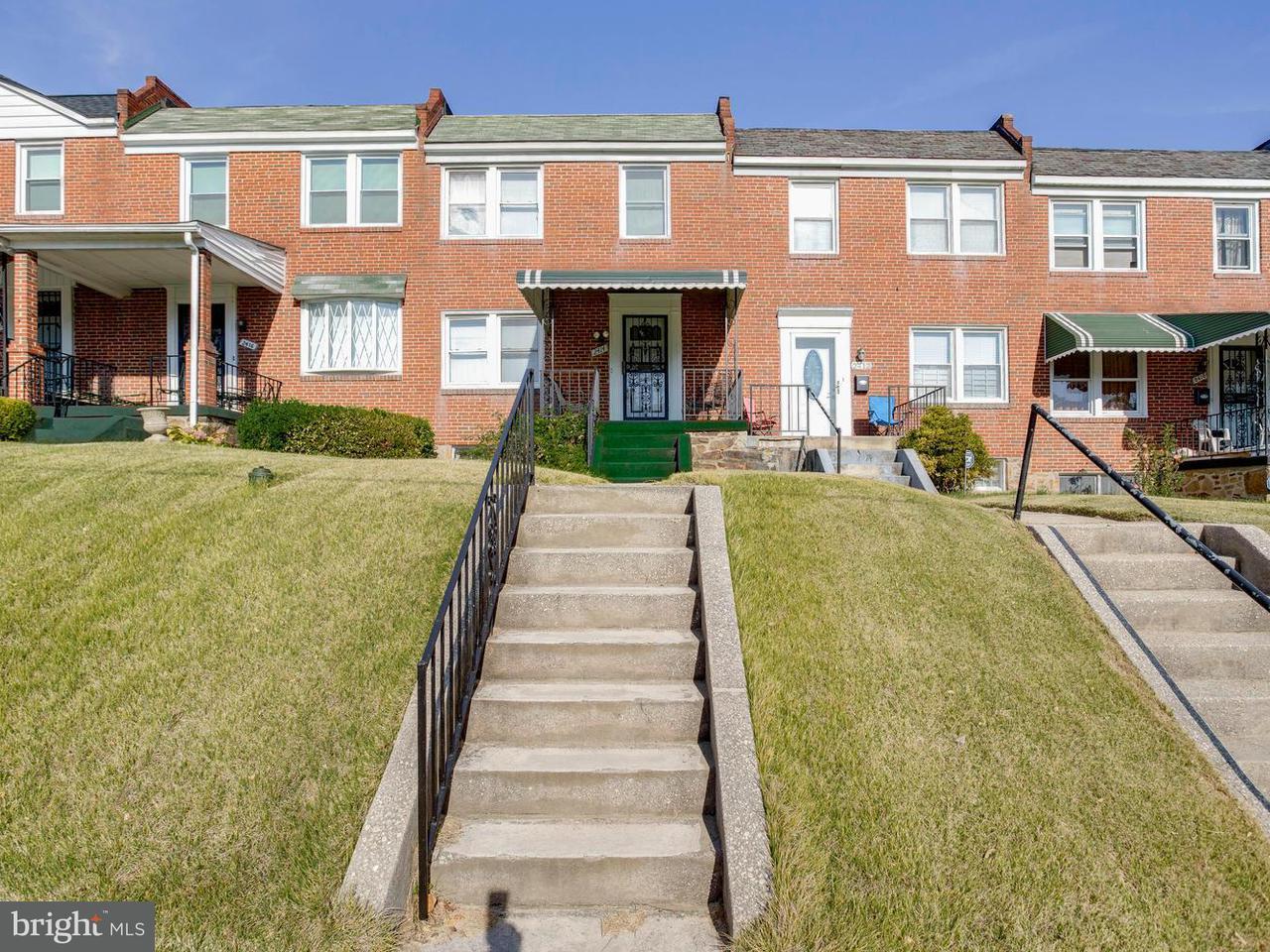 Single Family for Sale at 2414 Oswego Ave Baltimore, Maryland 21215 United States