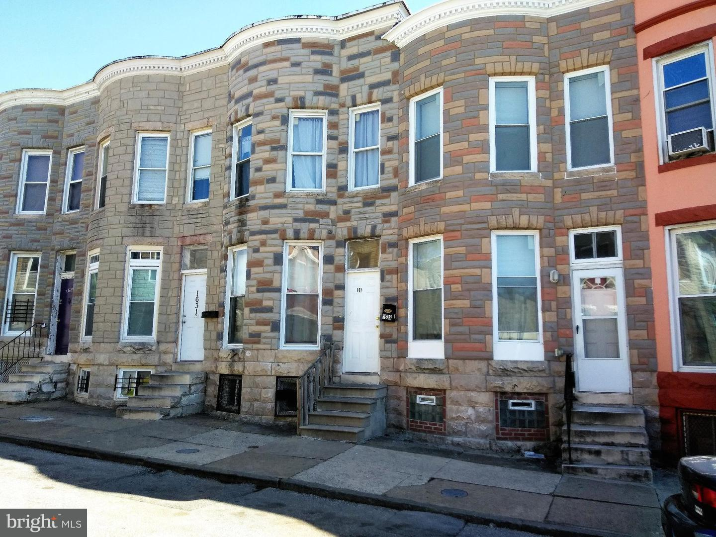Single Family for Sale at 1633 Westwood Ave Baltimore, Maryland 21217 United States