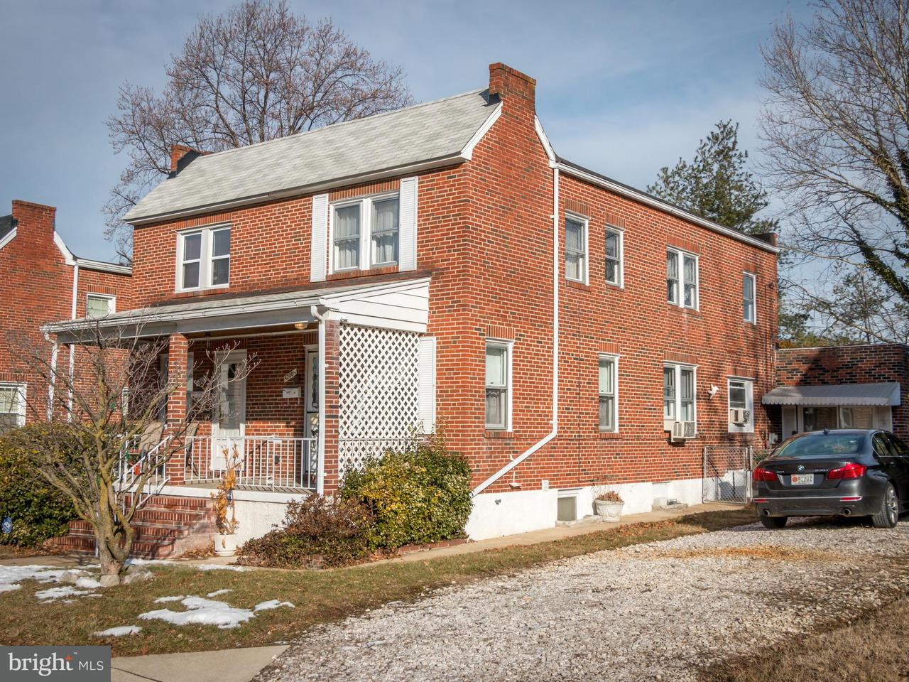 Single Family for Sale at 4208 Springwood Ave Baltimore, Maryland 21206 United States