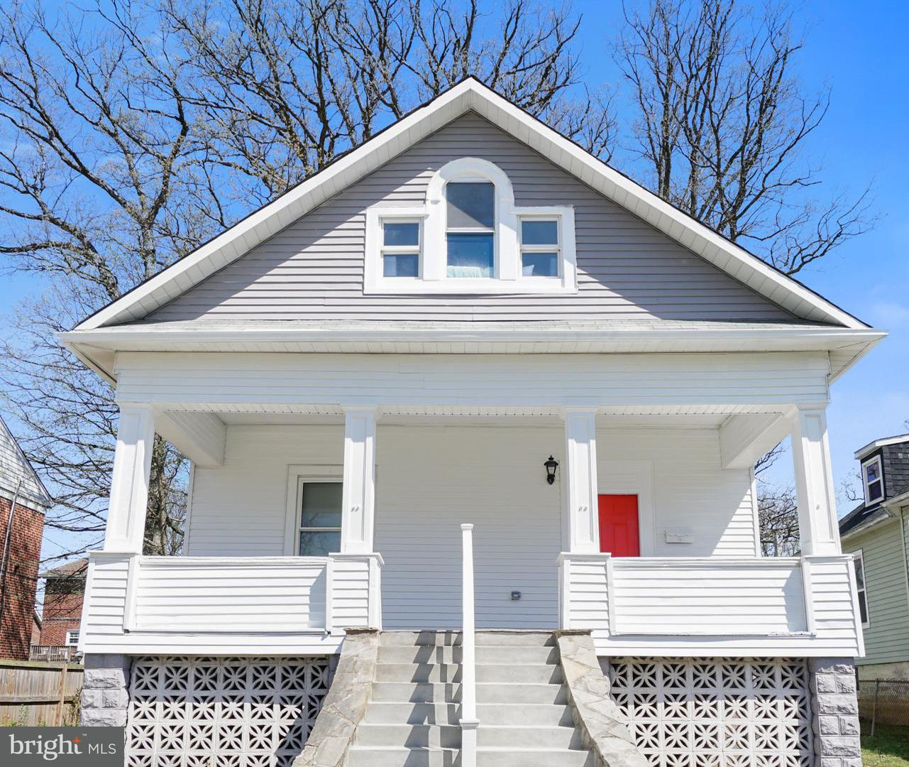 Single Family for Sale at 4110 Belle Ave Baltimore, Maryland 21215 United States