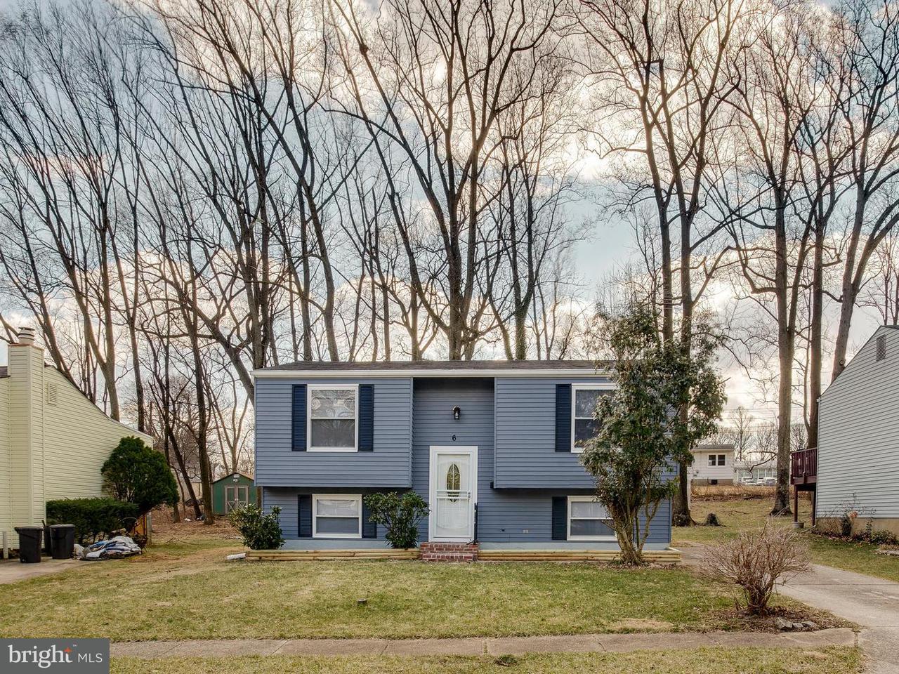 Single Family for Sale at 6 Garobe Ct Gwynn Oak, Maryland 21207 United States