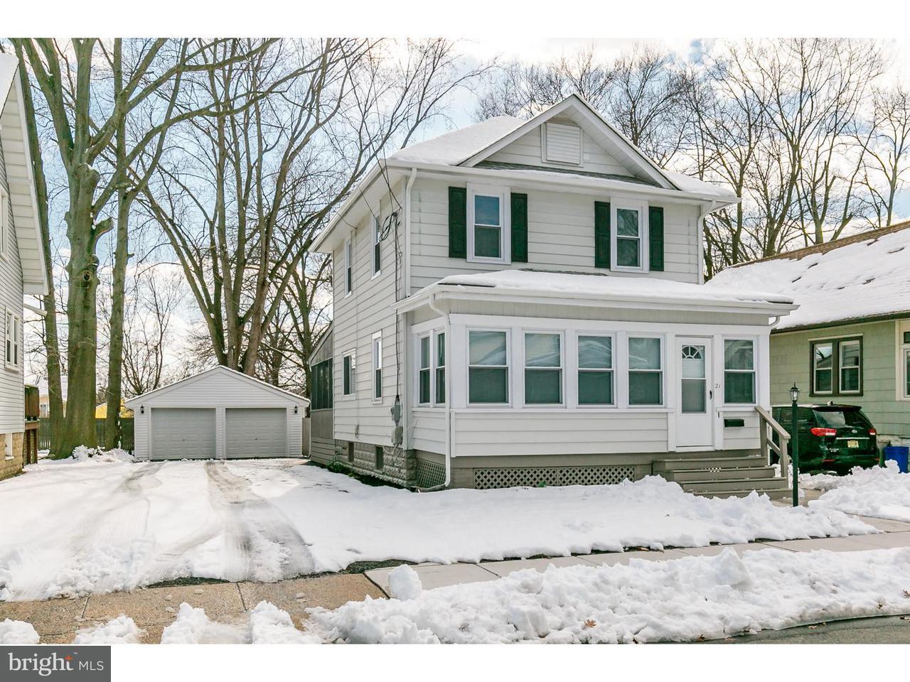 独户住宅 为 出租 在 21 WATKINS Avenue Woodbury, 新泽西州 08096 美国