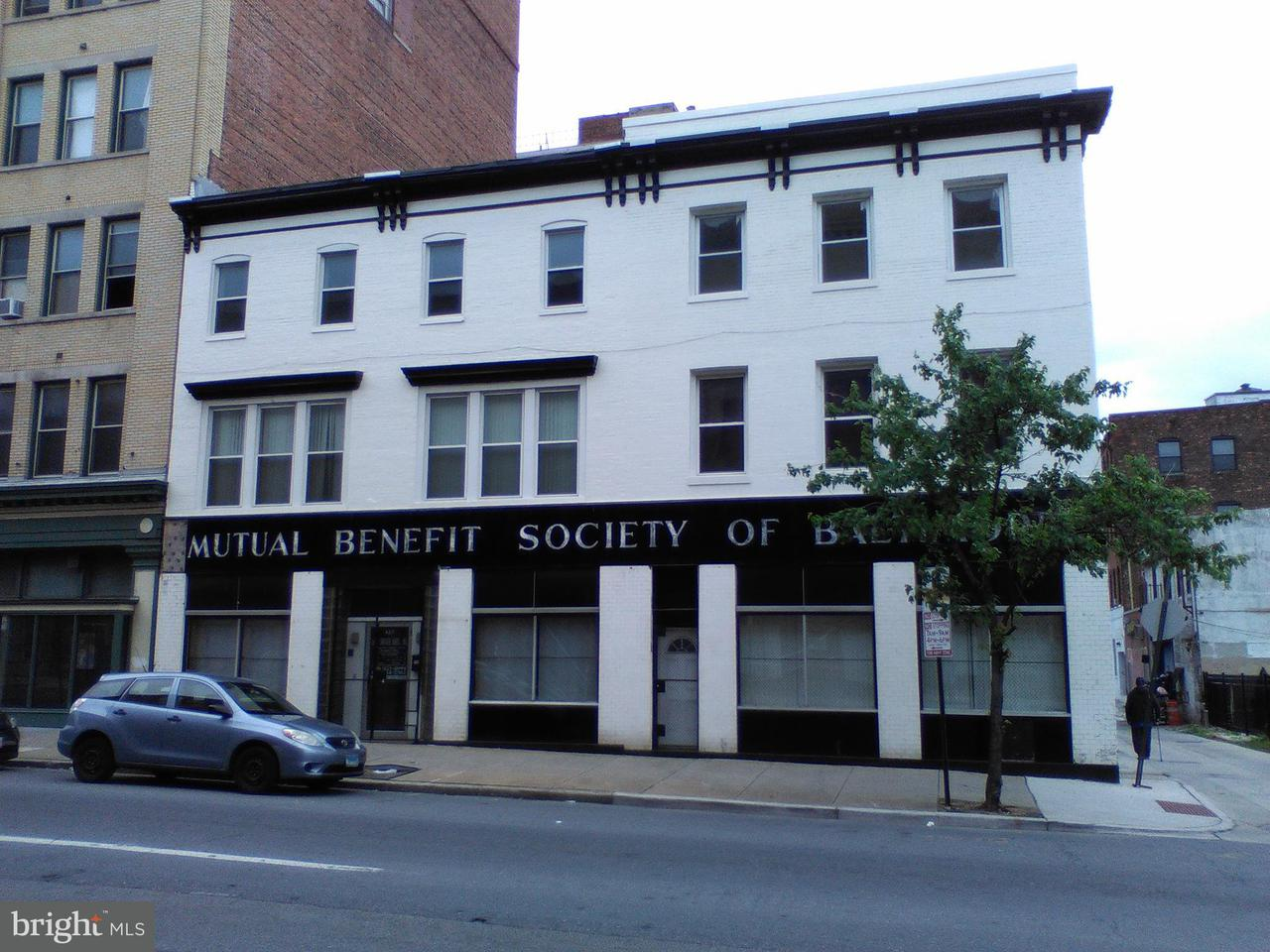 Commercial for Sale at 407 W Franklin St Baltimore, Maryland 21201 United States
