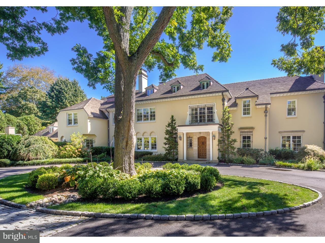 Casa Unifamiliar por un Venta en 1301 LAFAYETTE Road Gladwyne, Pennsylvania 19035 Estados Unidos