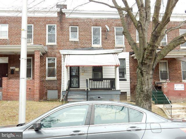 Single Family for Sale at 1535 Appleton St Baltimore, Maryland 21217 United States