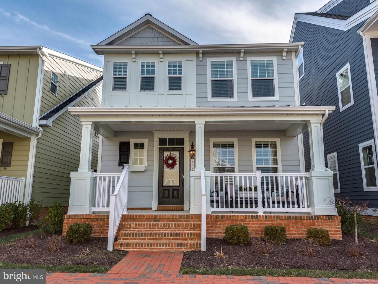 단독 가정 주택 용 매매 에 334 Thomas White Blvd 334 Thomas White Blvd Chester, 메릴랜드 21619 미국