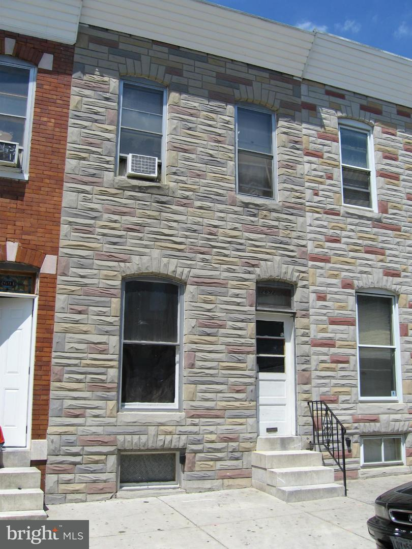Single Family for Sale at 2692 Dulany St Baltimore, Maryland 21223 United States