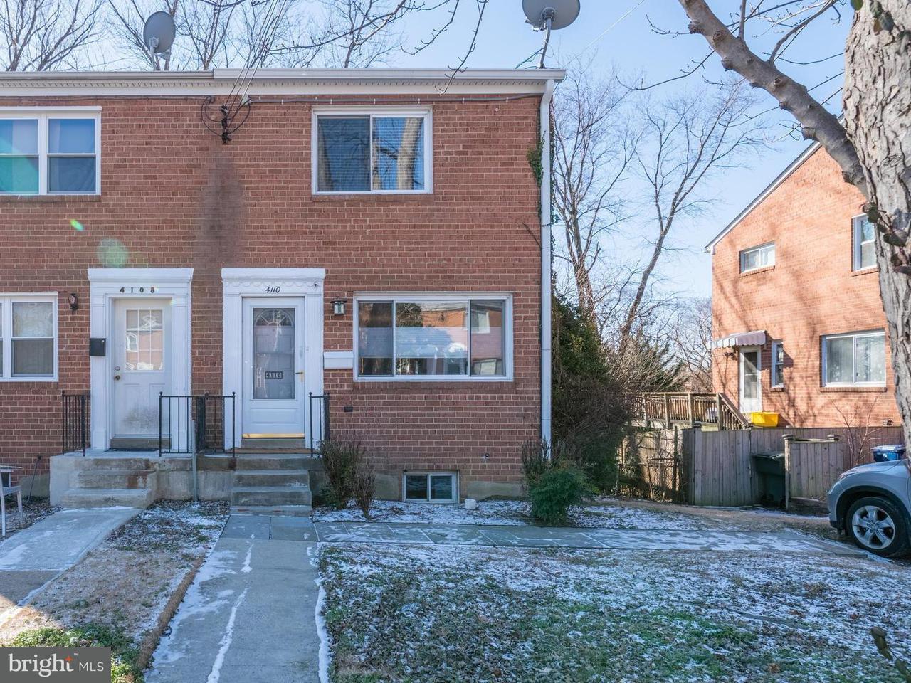 Doppelhaus für Verkauf beim 4110 Usher Avenue 4110 Usher Avenue Alexandria, Virginia 22304 Vereinigte Staaten