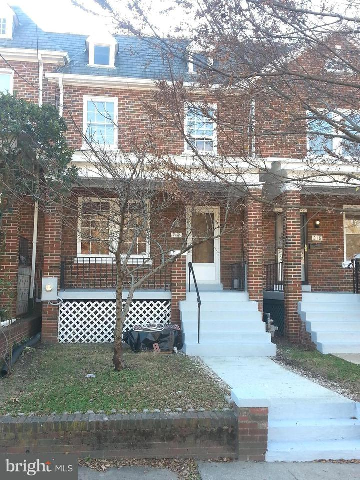 Townhouse for Sale at 216 Madison St Nw 216 Madison St Nw Washington, District Of Columbia 20011 United States