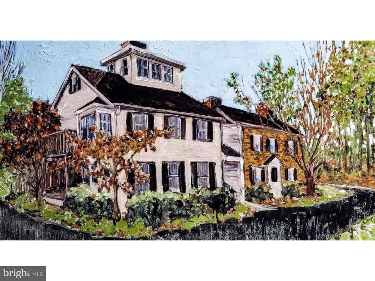 Maison unifamiliale pour l Vente à 6488 GREENHILL Road Lumberville, Pennsylvanie 18933 États-UnisDans/Autour: Solebury Township
