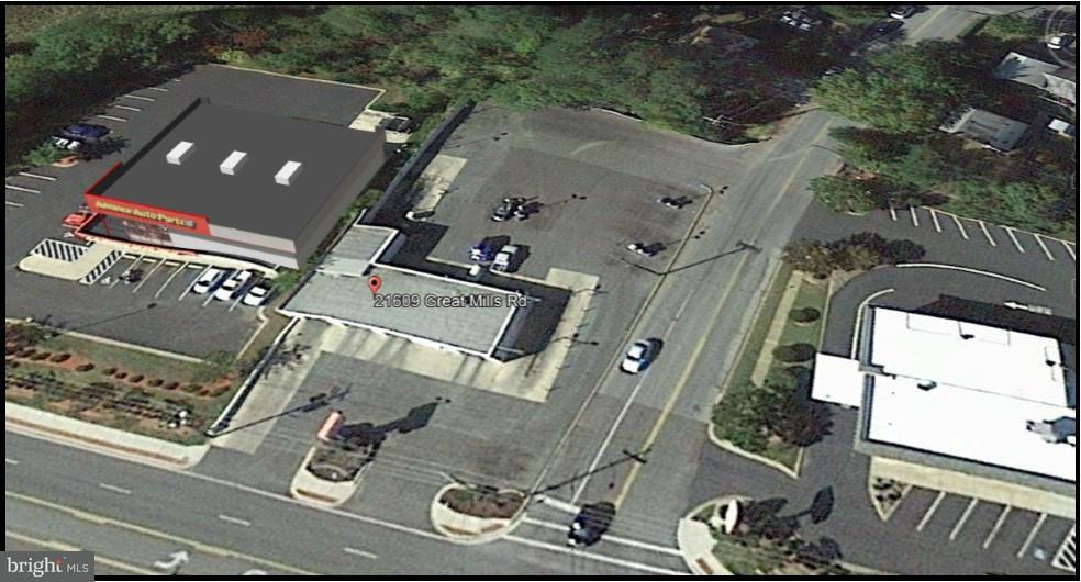 Comercial por un Venta en 21609 Great Mills Road 21609 Great Mills Road Lexington Park, Maryland 20653 Estados Unidos