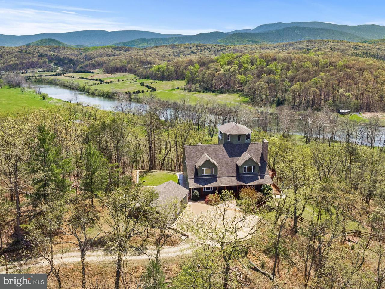 Single Family for Sale at 1406 Panhandle Rd Bentonville, Virginia 22610 United States