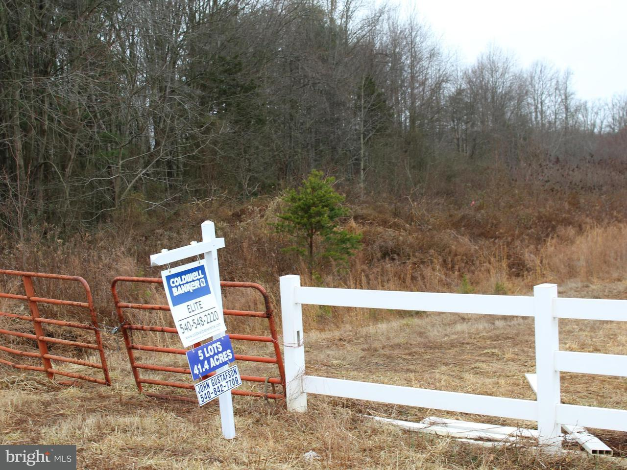 Land for Sale at Rose Marie Dr Rhoadesville, Virginia 22542 United States
