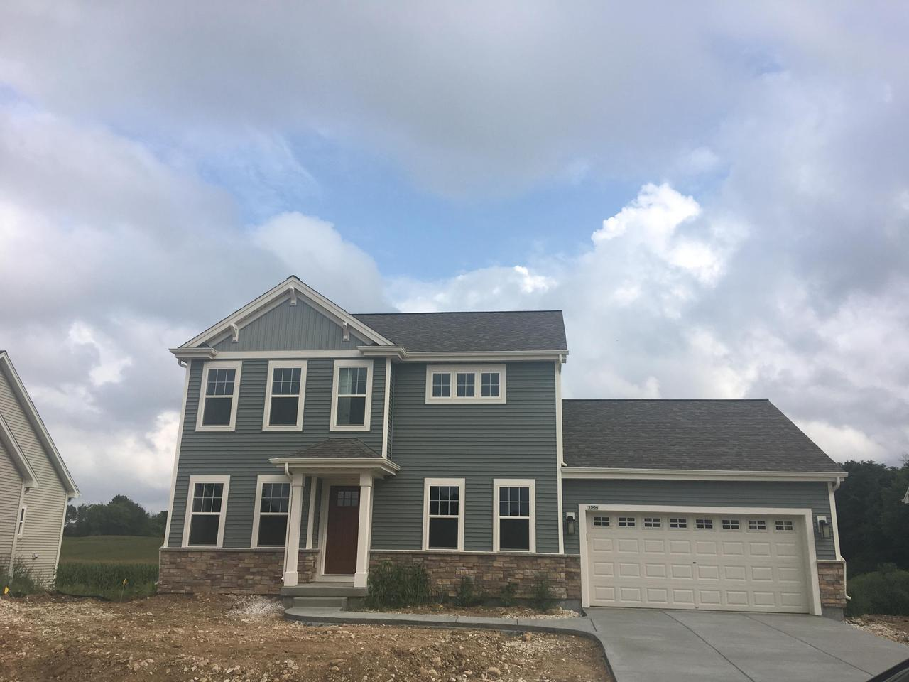 """Energy-Efficient NEW Construction built for the way YOU live - Ready June 2018! 4BR, 2.5 Bth Moorland Plan with 2+ car garage. Kitchen includes Island with Sink and 10"""" Flush Overhang, Hi-Def Laminate, and huge Pantry. Great Room includes a Gas Corner Fireplace with Cultured Stone, Laminate Flooring, and sliding patio doors. Master Suite has Tray Ceiling and Walk-In Closet, 5' Shower, Double Bowl Vanity, and Linen Closet .Other Highlights include Rear Foyer with Lockers, Closet, and Laundry Room. Garage Storage Area, WIC in Bedroom 3 and Money-Saving Eco-Friendly Features throughout!"""