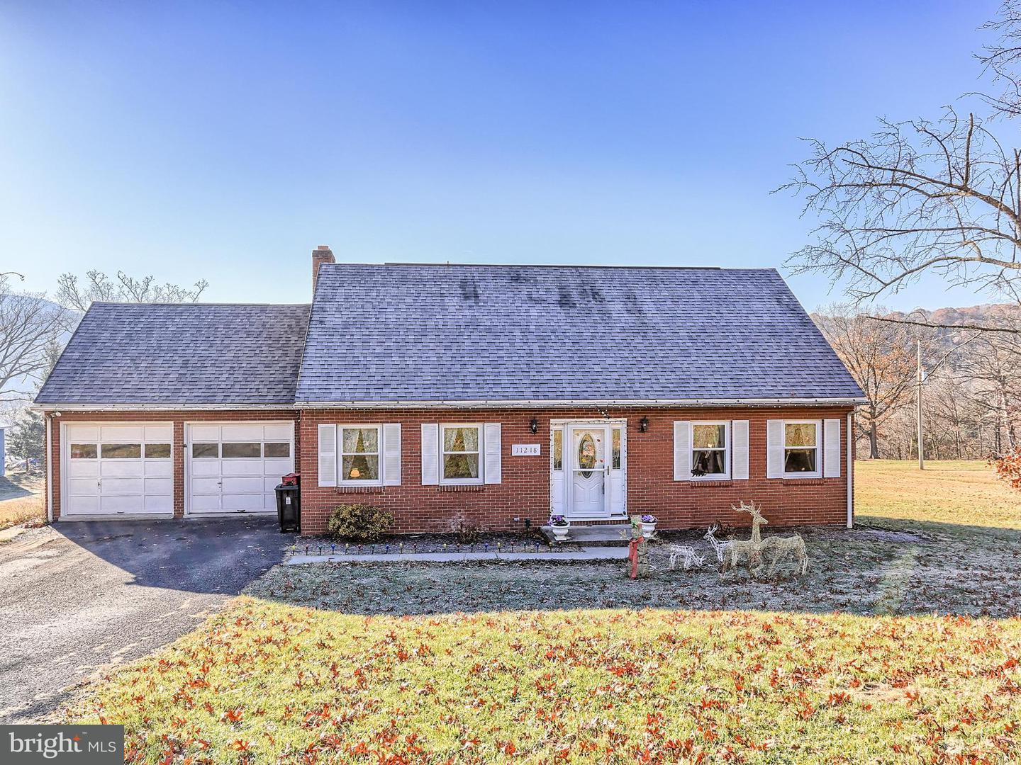 Single Family for Sale at 11218 Poorbaugh Ave Corriganville, Maryland 21524 United States
