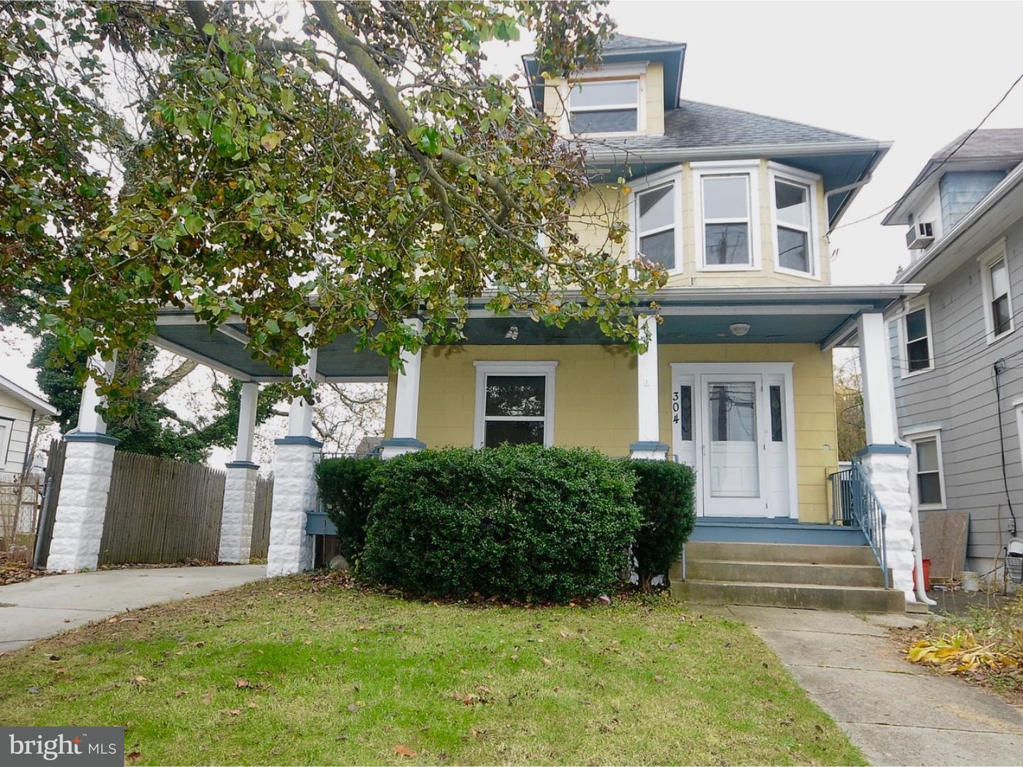 Single Family Home for Sale at 304 BARRINGTON Avenue Barrington, New Jersey 08007 United States