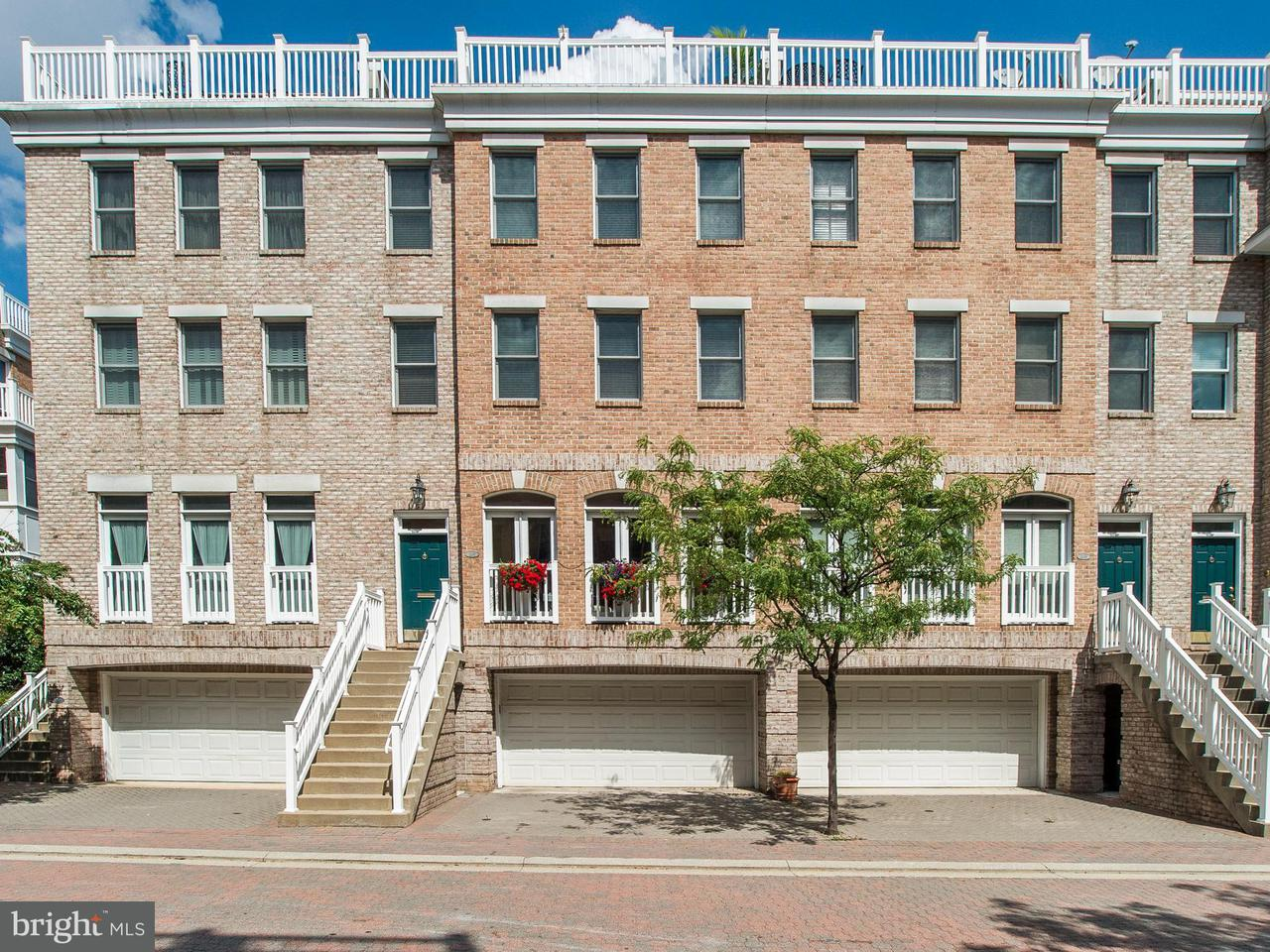 Townhouse for Sale at 1237 HARBOR ISLAND WALK 1237 HARBOR ISLAND WALK Baltimore, Maryland 21230 United States