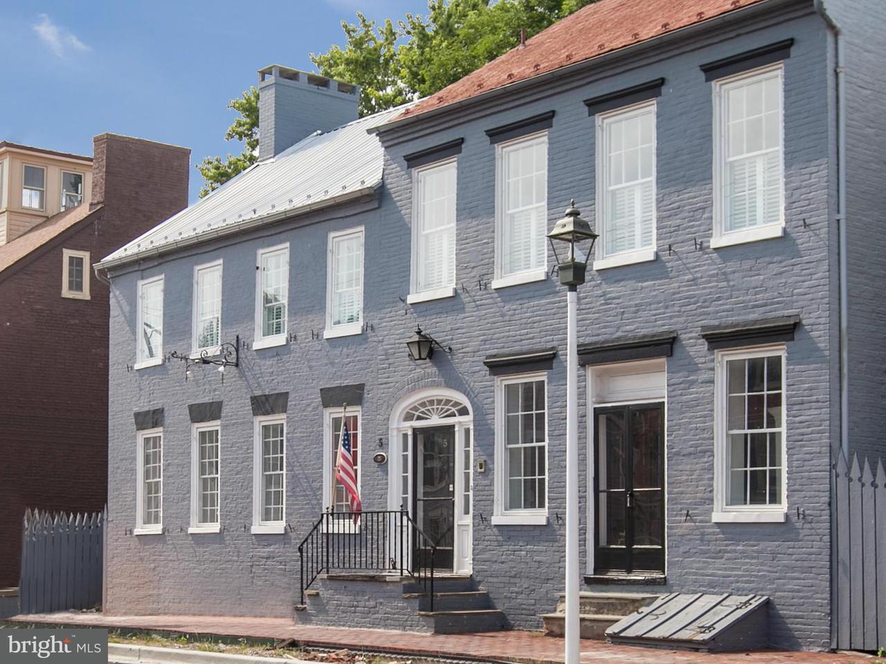 Maison unifamiliale pour l Vente à 5 Main Street 5 Main Street New Market, Maryland 21774 États-Unis