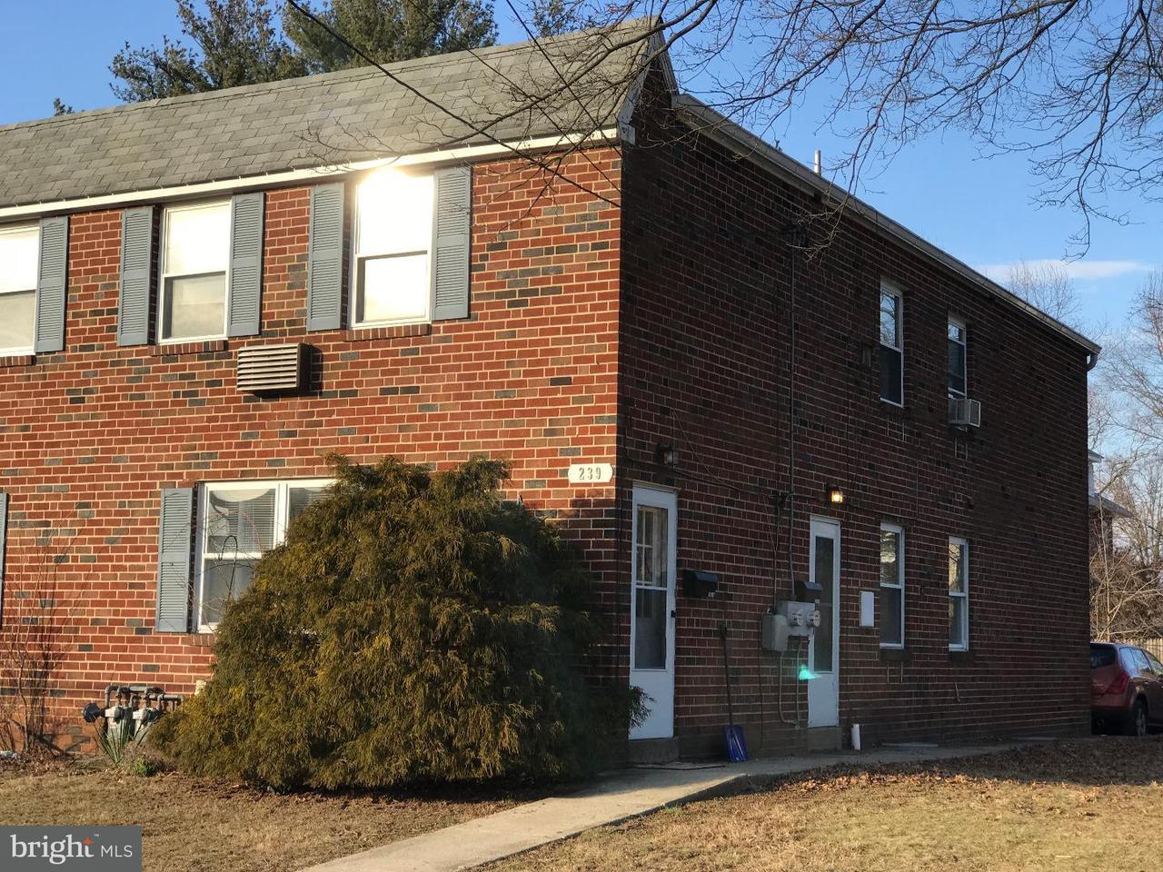Casa unifamiliar adosada (Townhouse) por un Alquiler en 239 S 3RD ST #A North Wales, Pennsylvania 19454 Estados Unidos