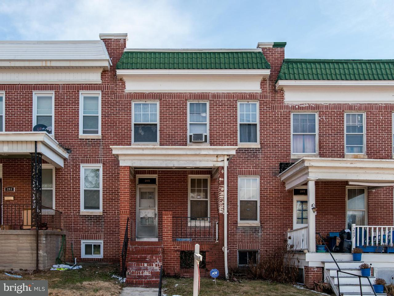 Single Family for Sale at 205 S Wickham Rd Baltimore, Maryland 21229 United States
