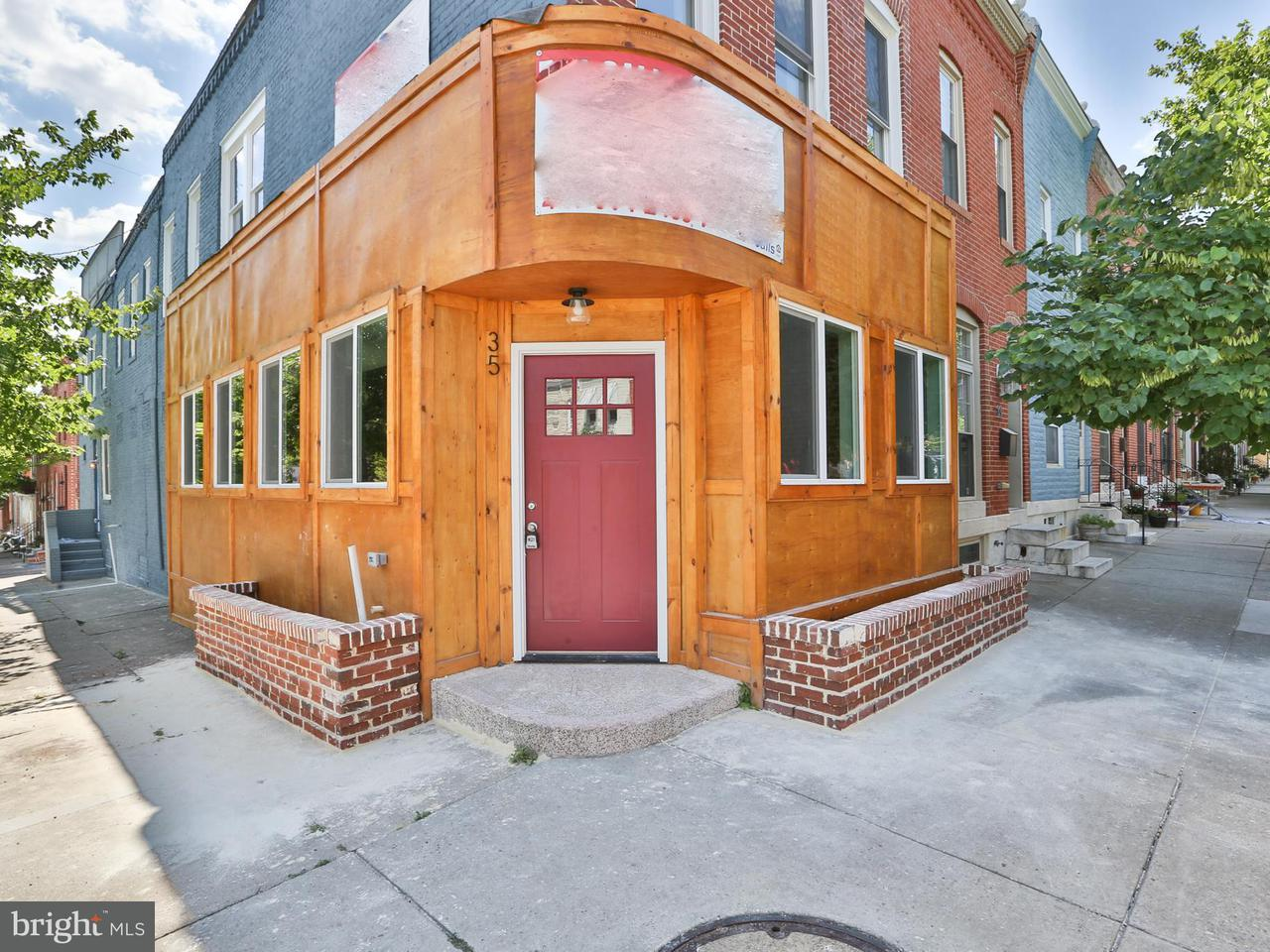 Photo of home for sale at 35 Milton Avenue, Baltimore MD