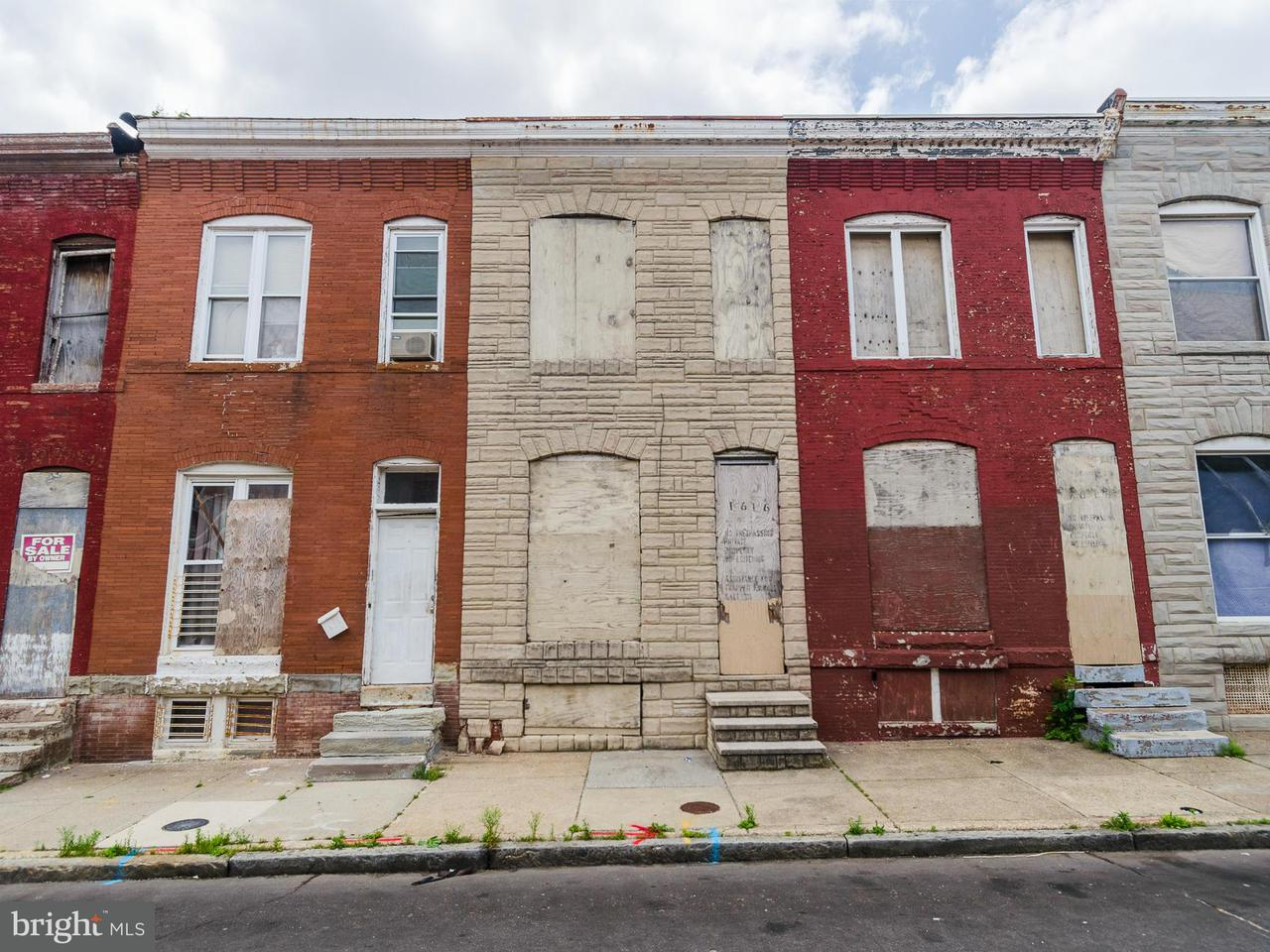 Photo of home for sale at 1616 Port Street N, Baltimore MD