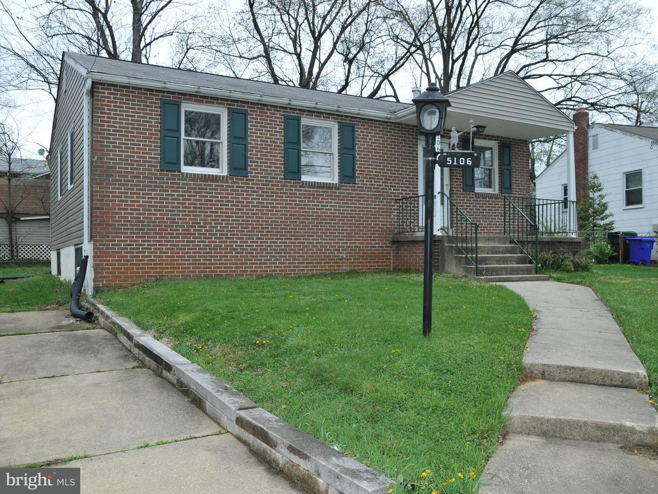 Photo of home for sale at 5106 Iroquois Street, College Park MD