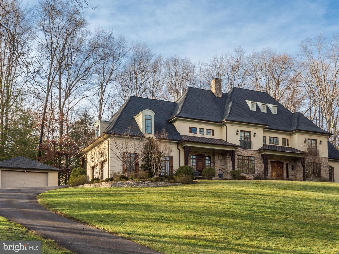 Photo of home for sale at 7629 Burford Drive, Mclean VA