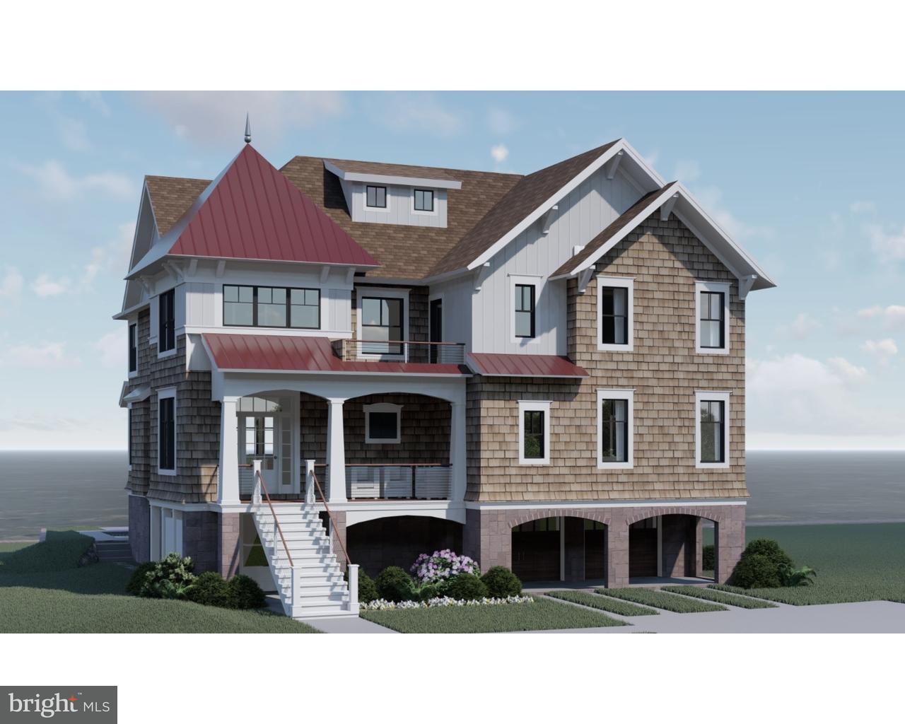 Частный односемейный дом для того Продажа на 39 LAGOON Road Ocean City, Нью-Джерси 08226 Соединенные Штаты